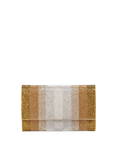 Fizzoni Stripes Crystal Crossbody Bag