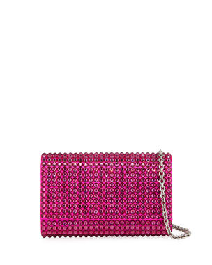 3fcd26437769 Judith Leiber Couture Fizzy Bling Crystal Crossbody Clutch Bag