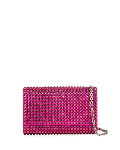 Fizzy Bling Crystal Crossbody Clutch Bag