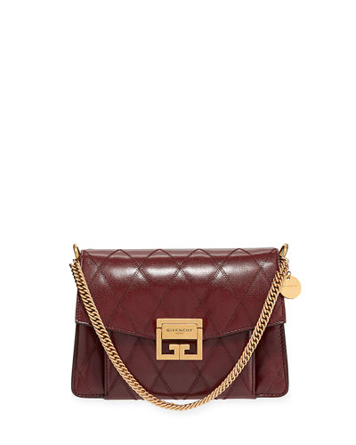 GV3 Small Quilted Leather Crossbody Bag