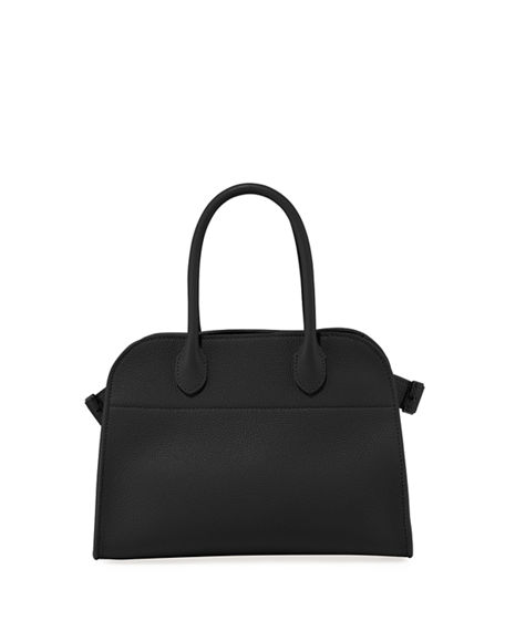 THE ROW Margaux 10 Bag in Grained Calfskin