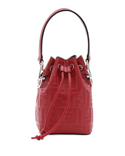 FF Calf Mon Tresor Bucket Bag