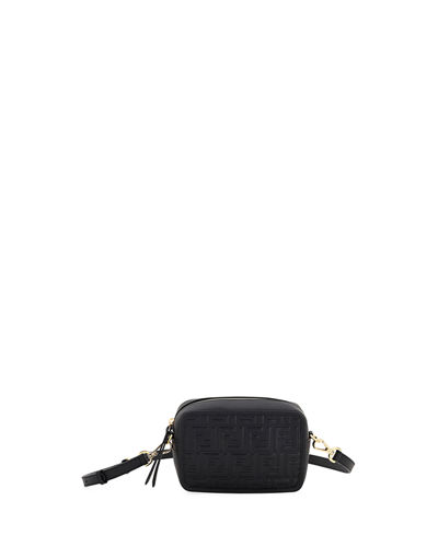 Mini FF Calf Camera Crossbody Bag