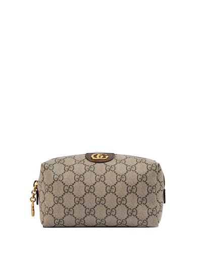 Ophidia Small GG Supreme Cosmetics Clutch Bag