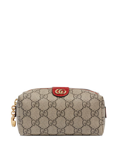 Ophidia Mini GG Supreme Cosmetics Clutch Bag
