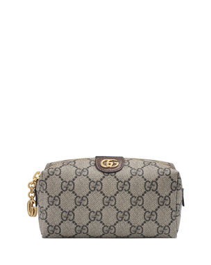 4222f5f0719a Gucci Ophidia Mini GG Supreme Cosmetics Clutch Bag