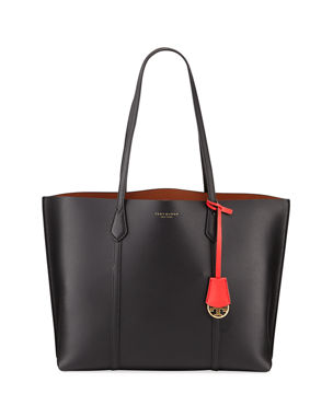 Tory Burch Perry Leather Tote Bag. Favorite. Quick Look 1284501991