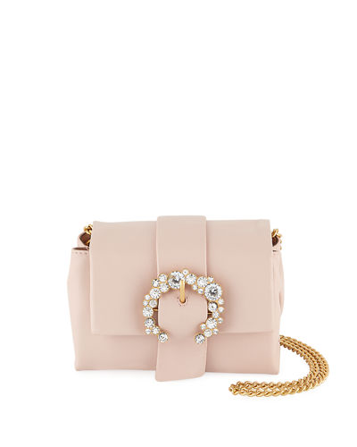 Tory Burch Greer Mini Leather Crossbody Bag
