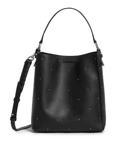 Kathi Small Studded Leather Tote Bag
