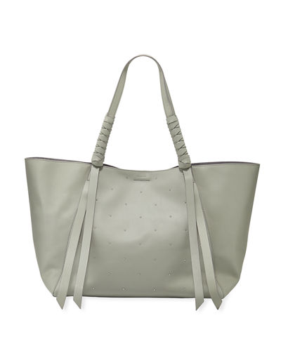Quick Look. AllSaints · Kathi E W Studded Leather Tote Bag 443a6340be