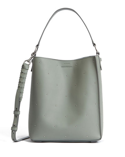 Quick Look. AllSaints · Kathi Studded Leather Tote Bag 50204c4aac969