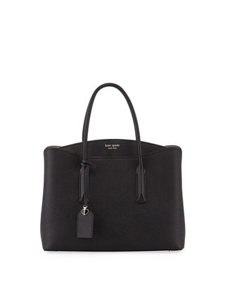 Margaux Large Leather Satchel Bag by Kate Spade New York