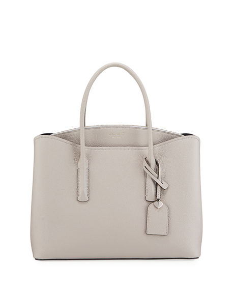 kate spade new york margaux large leather satchel bag
