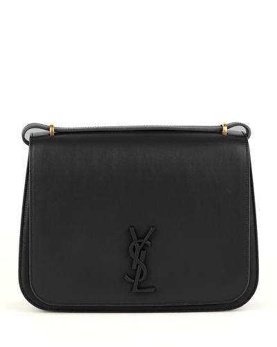Spontini Large Monogram YSL Leather Crossbody Bag