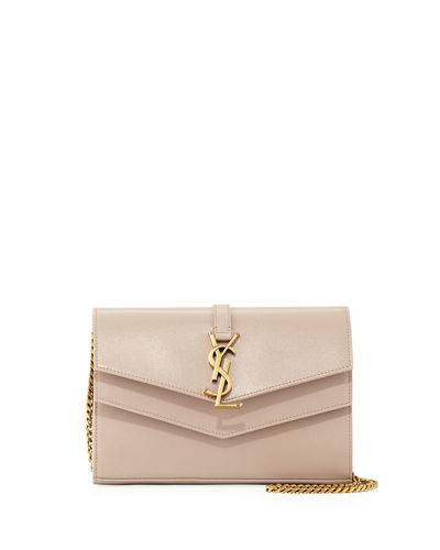 Sulpice Monogram YSL V-Flap Wallet on Chain
