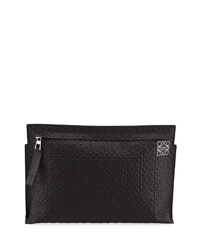 T Pouch Repeat Clutch Bag