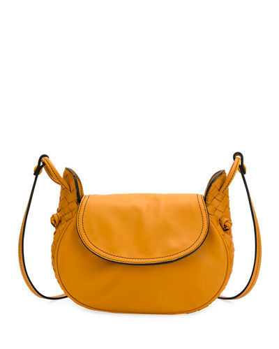 Nodini Flap Leather Shoulder Bag