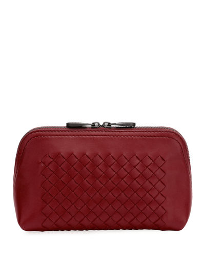 Quick Look. Bottega Veneta · Zip Intrecciato Cosmetic Pouch Bag 9df1811a288ed