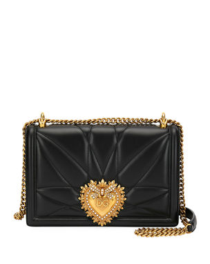 Dolce   Gabbana Devotion Large Quilted Crossbody Bag 8f1802cc2f