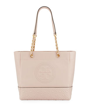 Tory Burch Fleming Chain-Handle Leather Tote Bag 2383a1819f