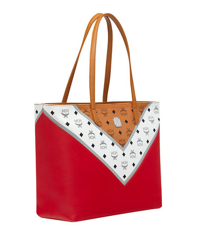 Move Visetos Monogram Tote Bag