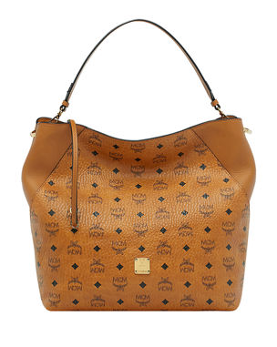 178c201cd2aab3 MCM Klara Visetos Large Hobo Bag