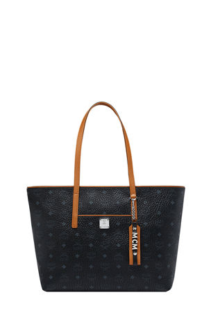 MCM Anya Medium Shopper Tote Bag