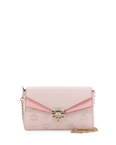 6b922d8b3a Quick Look. MCM · Millie Monogrammed Leather Crossbody Bag