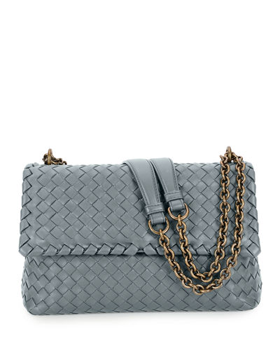 Quick Look. Bottega Veneta · Intrecciato Double Chain Shoulder Bag 6995047e6302a