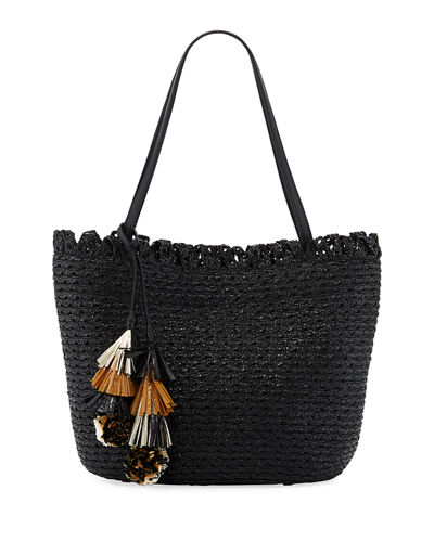 Quick Look. Eric Javits · Squishee® Mita Tassel Tote Bag. Available in Black  ... fd6954aff69a3