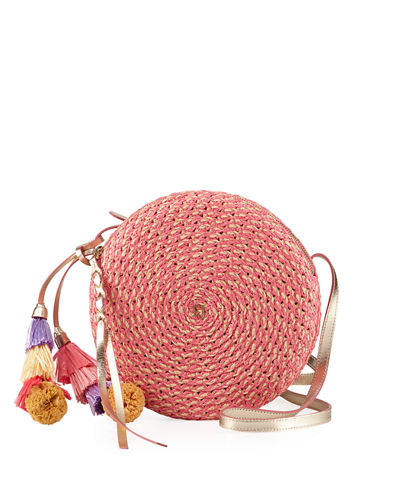 Bali Squishee Crossbody Bag with Tassels