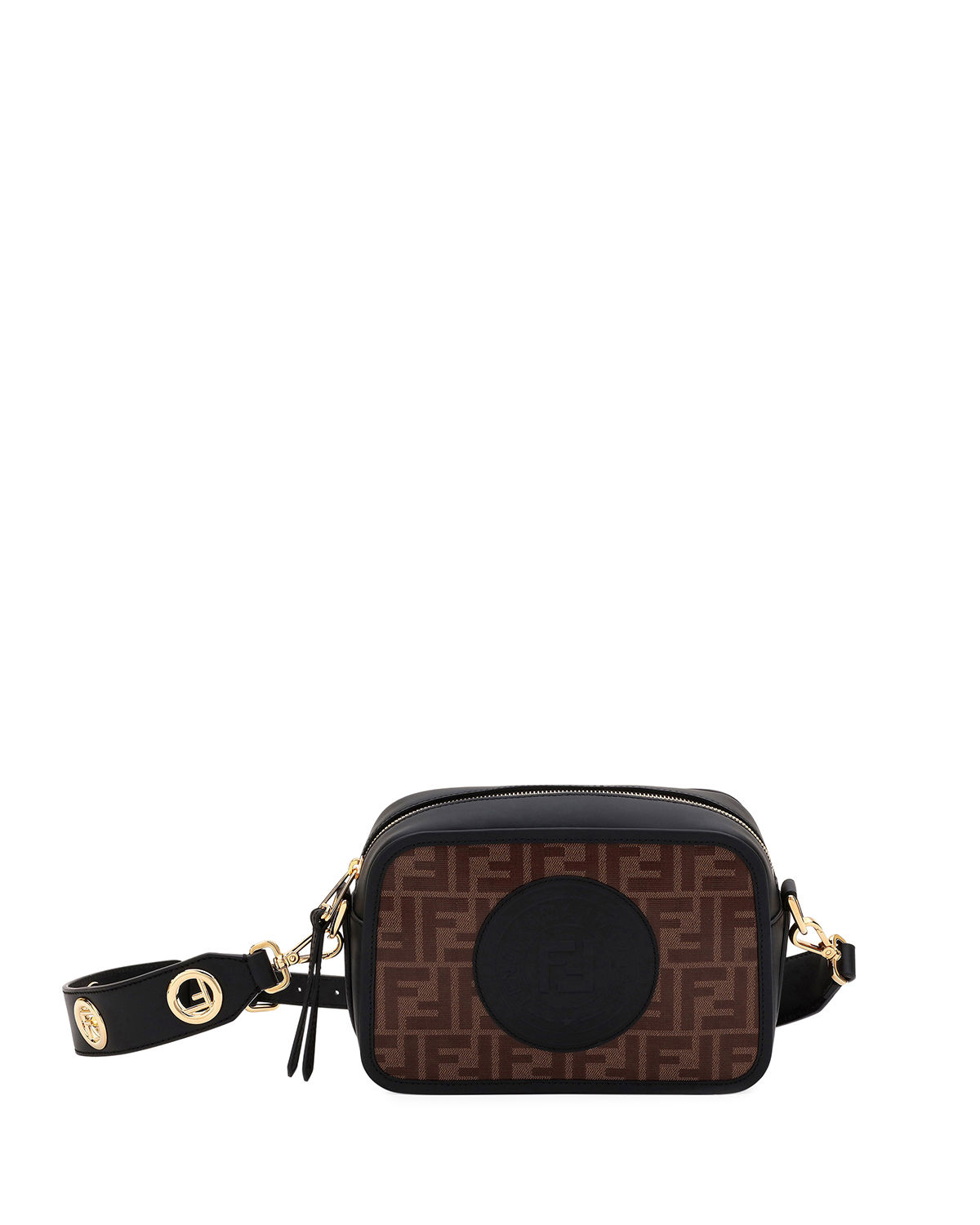 200f7a1f0024 Fendi FendiCam FF Canvas Crossbody Camera Bag