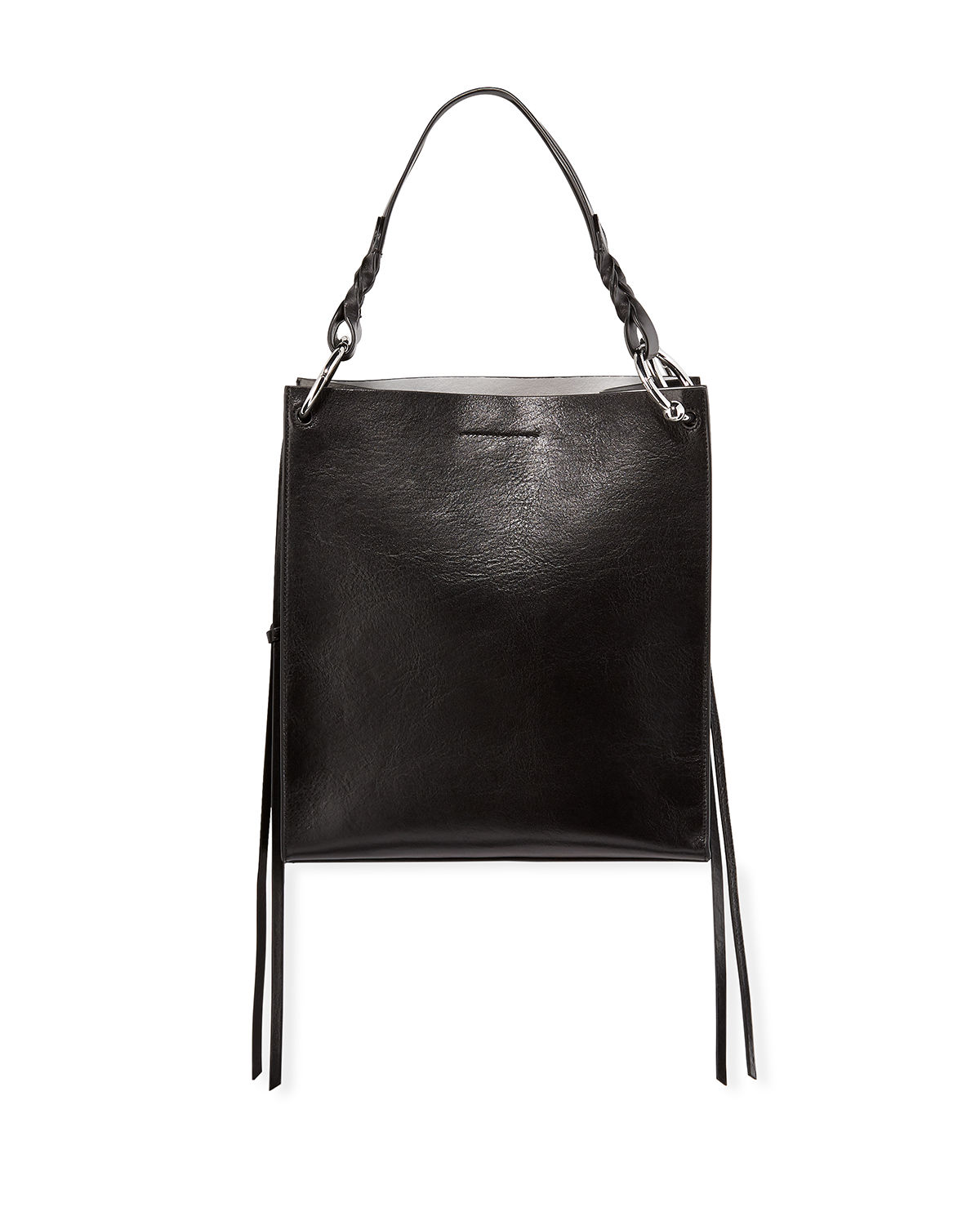 Kate Structured Leather Tote Bag