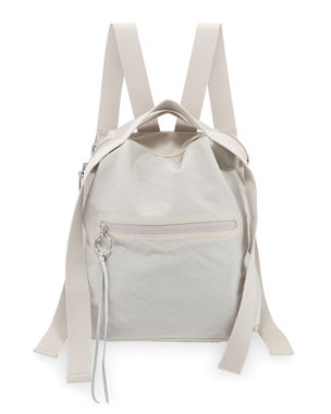 Rebecca Minkoff Distressed Nylon Tote Backpack bfeca79e4e2b9