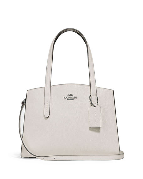Coach 1941 Charlie 40 Polished Carryall Tote Bag