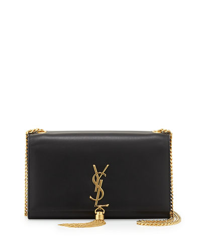 Saint Laurent Monogram YSL Medium Chain-Strap Tassel Bag