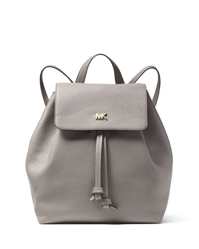 100c9a8eceb3 MICHAEL Michael Kors Junie Medium Leather Flap Backpack