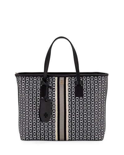 Gemini Coated Canvas Tote Bag