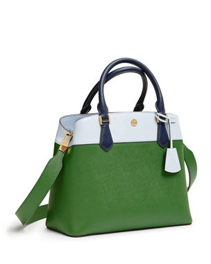 53f2be9733b6 Tory Burch Robinson Colorblock Leather Tote Bag