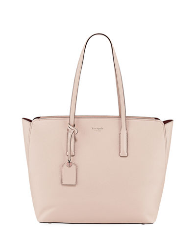 margaux large leather tote