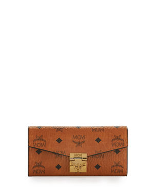 37b17c844a7 MCM Patricia Visetos Two-Fold Wallet-on-Chain