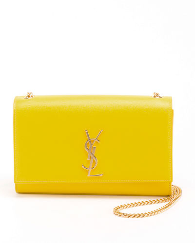 Monogram YSL Medium Calfskin Crossbody Bag