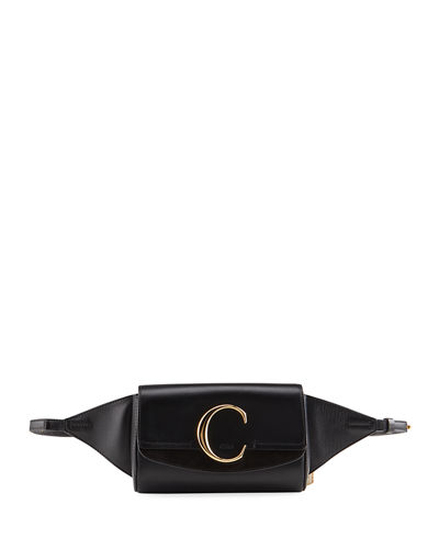 C Leather Belt Bag