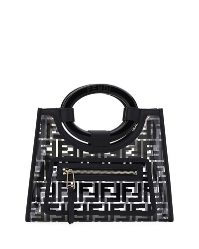 3014d3b7dc Quick Look. Fendi · Runaway Small PVC Shopper Tote Bag