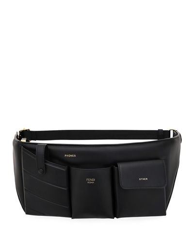 Leather Pouch Belt Bag