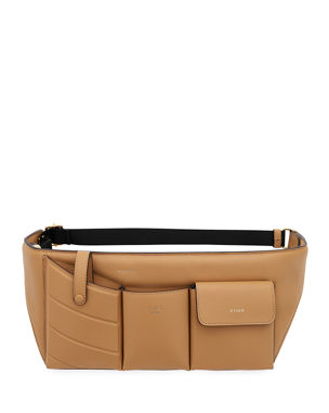c724aed59d Fendi Leather Pouch Belt Bag
