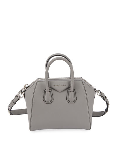 52cbad1c351a Quick Look. Givenchy · Antigona Mini Leather Satchel Bag. Available in Black