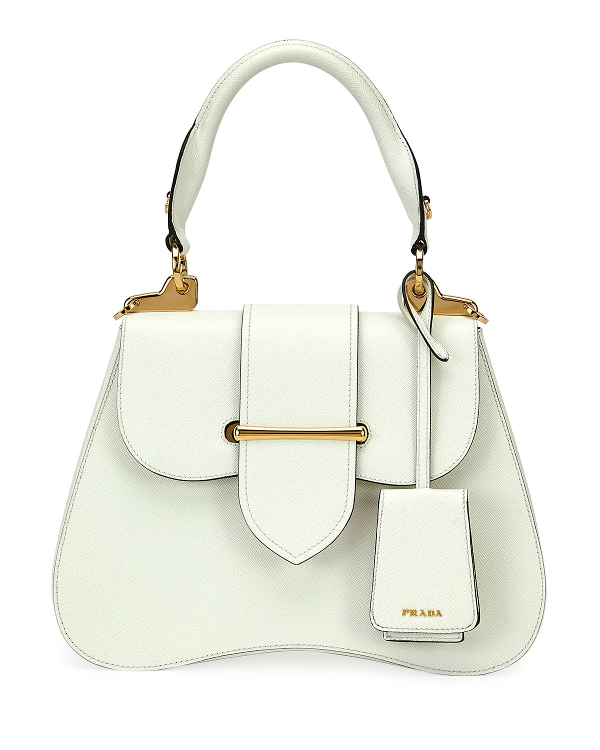 8609ee7c62d0 Prada Small Prada Sidonie Top-Handle Tote Bag | Neiman Marcus