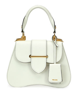 efacec0863a3 Prada Small Prada Sidonie Top-Handle Tote Bag