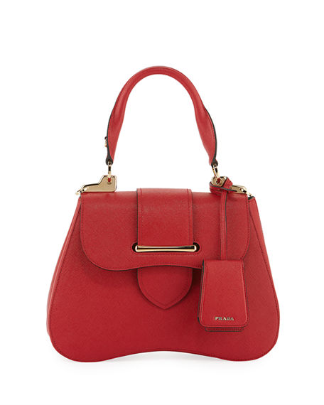 Prada Small Prada Sidonie Top-Handle Tote Bag